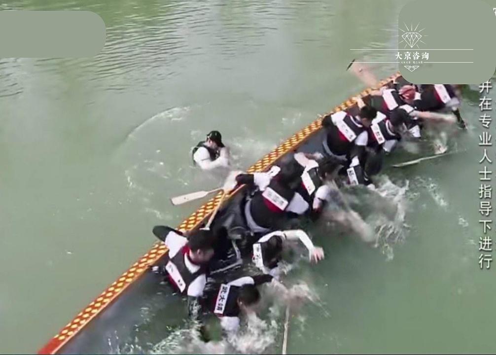 龙舟:自救反艇训练
