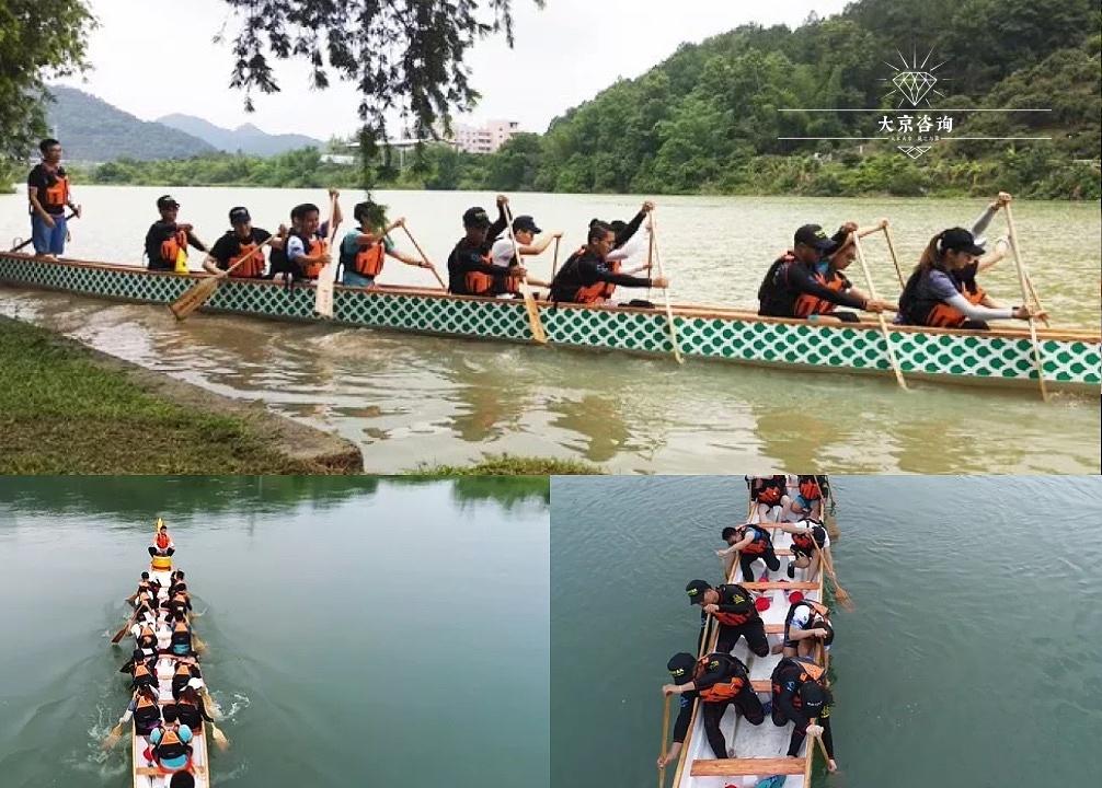 龙舟:水上训练